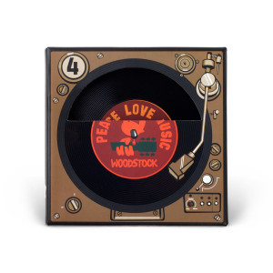 Woodstock Record Coaster Set