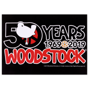 50th Anniversary Logo Postcard