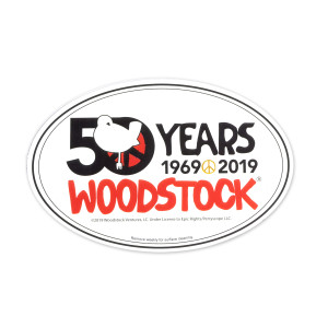 50th Anniversary Logo Oval Magnet