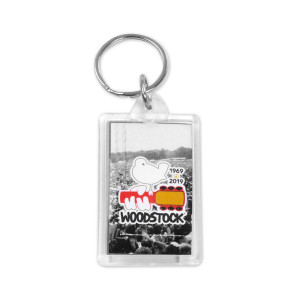 50th Anniversary Crowd Close Up Photo Keychain