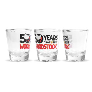 50th Anniversary Logo Shot Glass