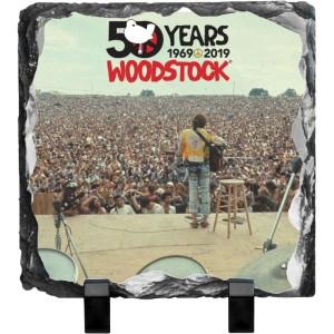 50 Years Crowds Photo Slate
