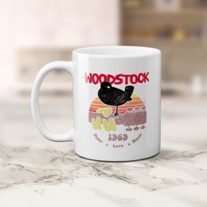 Bird & Guitar Woodstock Coffee Mug