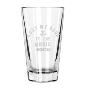 Lost My Soul To The Music Laser Etched Pint Glass
