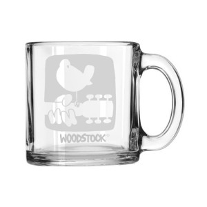 Textured Logo Laser Etched Mug