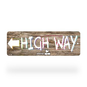 Woodstock High Way Street Sign