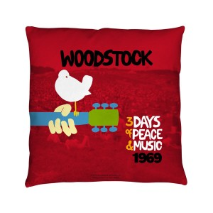 Woodstock Classic Throw Pillow