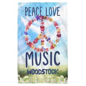 Woodstock Open Love Bath Towel