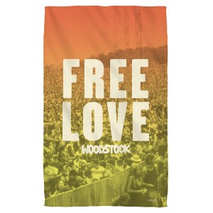 Woodstock Quoteable Bath Towel