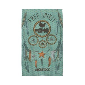 Woodstock Feathers Golf Towel