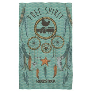 Woodstock Feathers Bath Towel