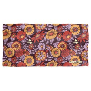 Woodstock Flower Set Beach Towel