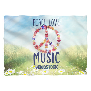 Woodstock Open Love Pillow Case