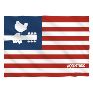 Woodstock Flag Pillow Case