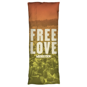 Woodstock Quoteable Microfiber Body Pillow