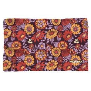 Woodstock Flower Set Fleece Blanket