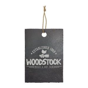 Established 1969 Laser Engraved Rectangular Slate Cutting Board