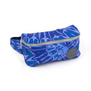 Woodstock Blue Tie Dye Fanny Pack