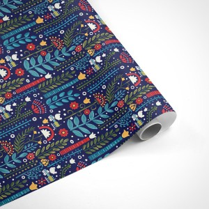 Woodstock Floral Wrapping Paper