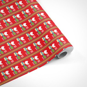 Woodstock Poster Wrapping Paper