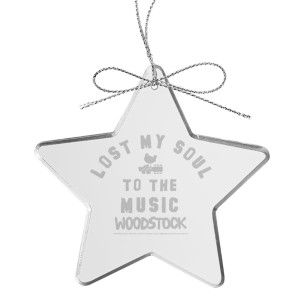 Soul Star Laser-Etched Glass Ornament