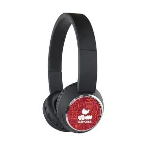 Red & Orange Wireless Headphones