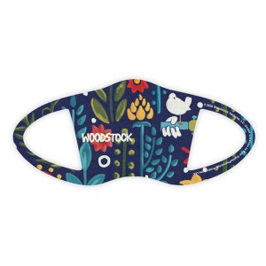 Woodstock Blue Floral Face Covering