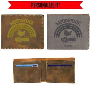 Rainbow Vegan Leather Wallet