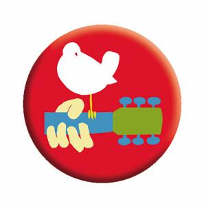 "Woodstock Bird 1.25"" Button"