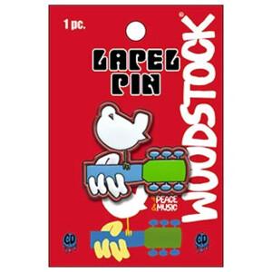 """Woodstock Logo 1.25"""" Lapel Pin"""