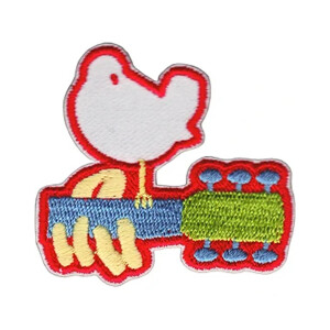 "Woodstock Dove 2"" Patchpins™"