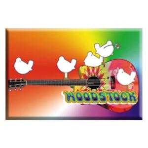 "Woodstock Guitar 2.5""x3.5"" Magnet"