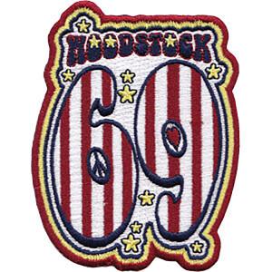 "Woodstock 69 2.75""x3.5"" Patch"