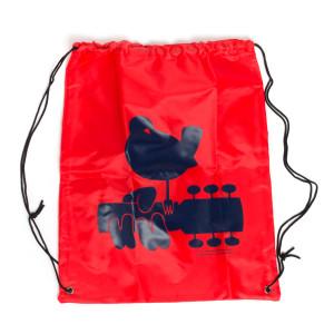 Red Drawstring Dove Bag