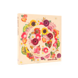 Woodstock Flowers White Notebook