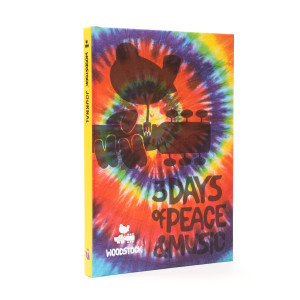 Woodstock Tie Dye 3 Days of Peace and Music Notebook
