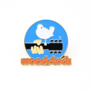 Woodstock Logo Pin
