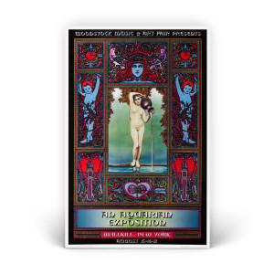 Garden Nymphs Exposition Poster