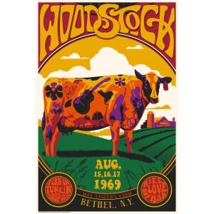 Woodstock X Collectionzz Max Yasgur's Farm Screenprint