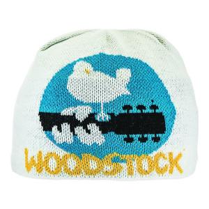 Woodstock White Beanie