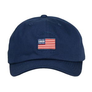 Woodstock Flag Navy Adjustable Hat