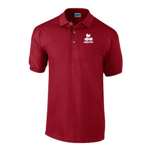 Woodstock Bird & Guitar Logo Polo Shirt