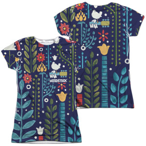 Junior's Woodstock Floral Pattern
