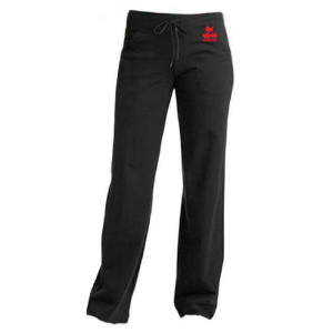 Women's Red Logo Yoga Pants