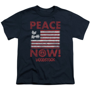Youth Woodstock Peace Now Logo