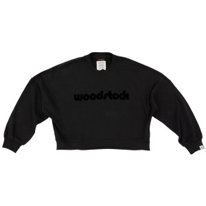 Woodstock Crew Crop Sweatshirt