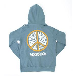 Woodstock Peace Love Music Hoodie