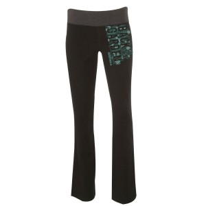 Vertical Green Logo Back To The Garden Yoga Pants