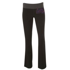 Lavender Logo Back To The Garden Yoga Pants