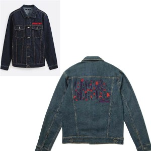Back To The Garden Jean Jacket